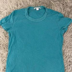 James Perse Teal Shirt size 1
